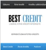BestCredit ātrie aizdevumi un patēriņu kredīti